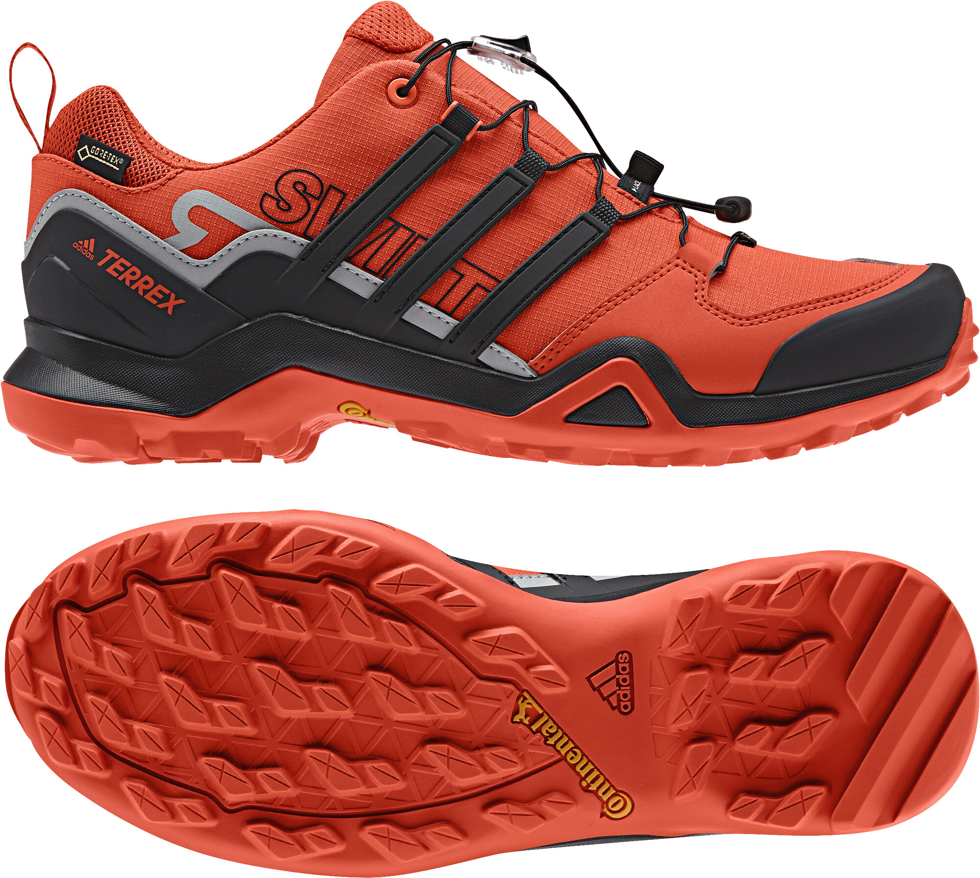 adidas TERREX Swift R2 GTX Shoes Men orange black at Addnature.co.uk 4fa245b71